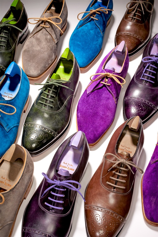 Paul Smith & John Lobb Shoes MENS FASHION IMAGEN QUE GENERA VALOR (1)