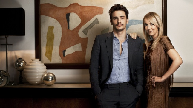 Imagen que genera valor James Franco And Frida Giannini