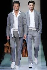 Giorgio Armani Primavera Verano 2013 Moda Masculina Consultoria de Imagen Estilo Italiano (1)