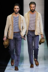 Giorgio Armani Primavera Verano 2013 Moda Masculina Consultoria de Imagen Estilo Italiano (3)