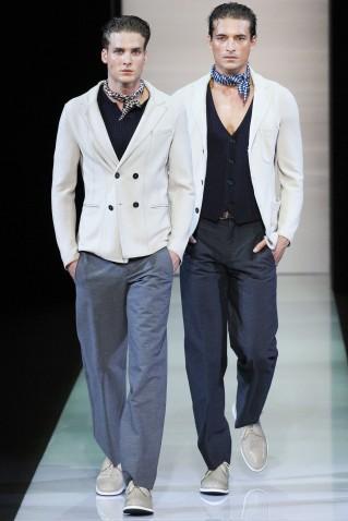 Giorgio Armani Primavera Verano 2013 Moda Masculina Consultoria de Imagen Estilo Italiano (4)