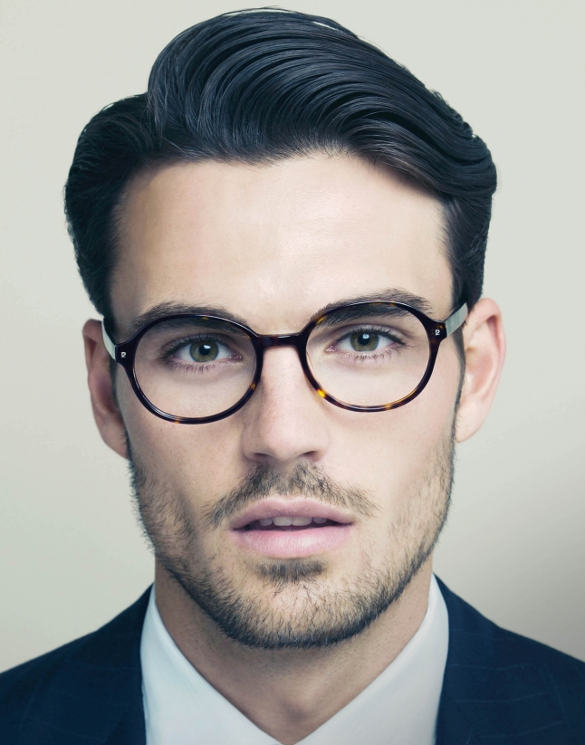Moda masculina lentes cara hombre carametria caramorfoligia consultoria de imagen