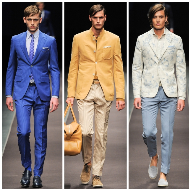 Milan Fashion Week SS14 CANALI IQGV