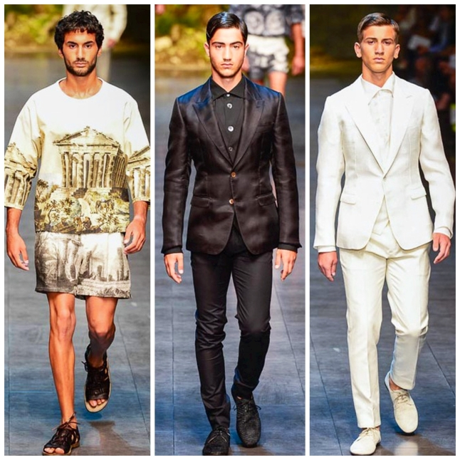 Milan Fashion Week SS14 Dolce & Gabbana IQGV