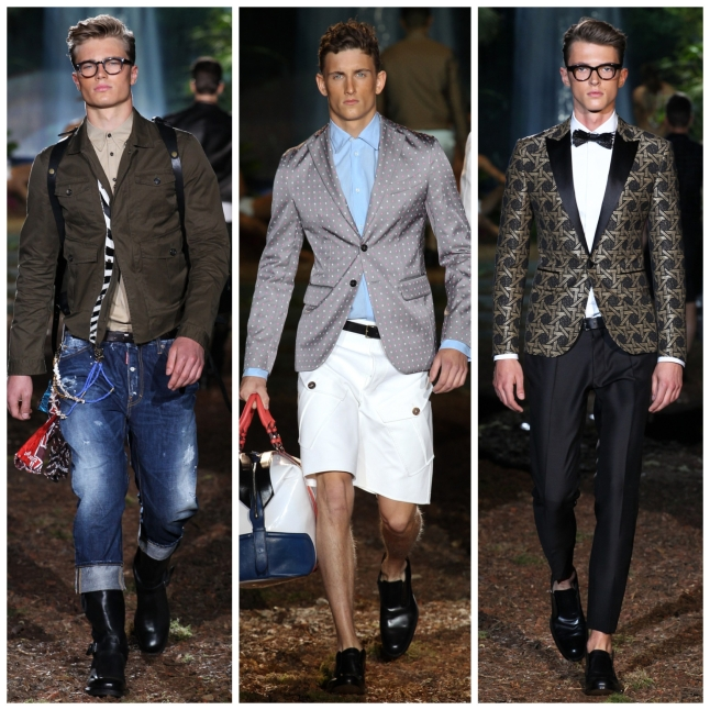 Milan Fashion Week SS14 DSQUARED2 IQGV