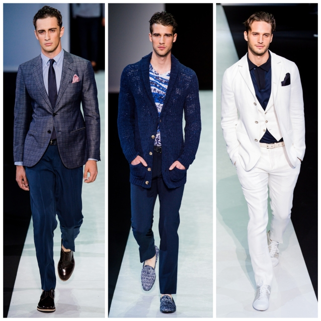 Milan Fashion Week SS14 GIORGIO ARMANI IQGV