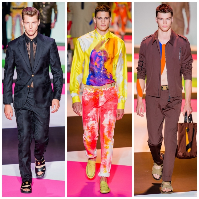 Milan Fashion Week SS14 Versace IQGV