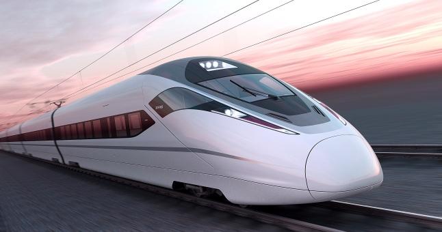 Trenes alta velocidad China IQGV Imagen publica