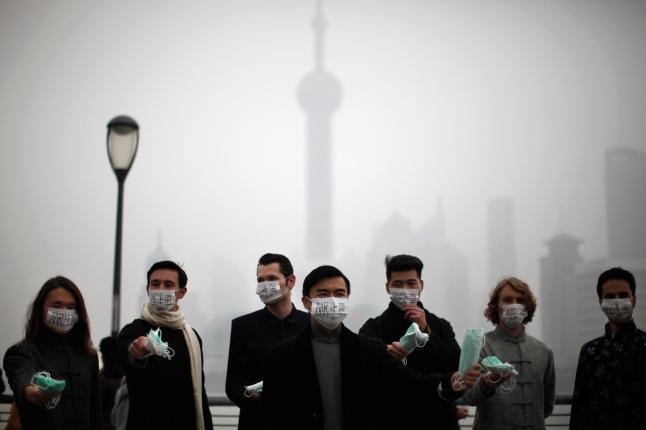 Contaminación en Shanghai
