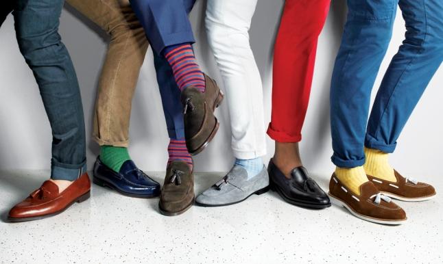 Lean ustedes lo que comunica un par de zapatos