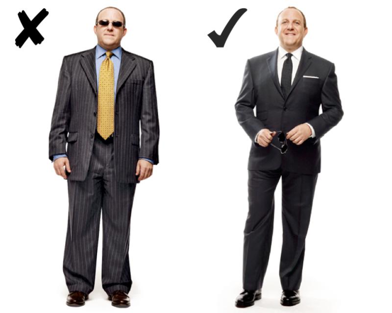 Moda para hombres con sobrepeso
