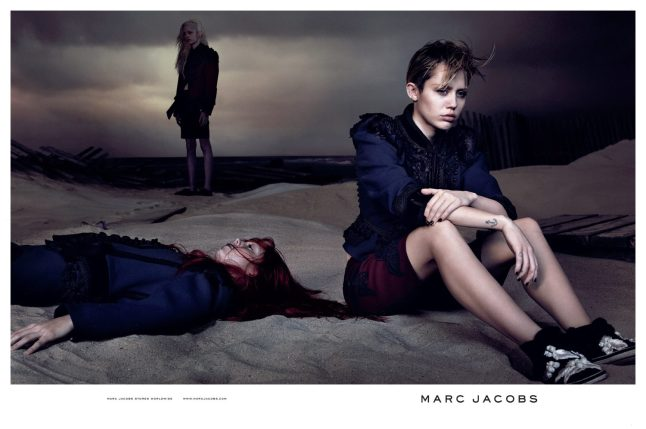 Miley Cyrus para Marc Jacobs