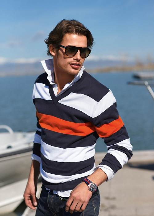 5 maneras de usar rayas en tus prendas