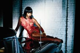 Naomi Campbell para Agent Provocateur