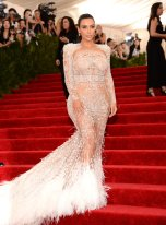 Kim KardashianMET Gala 2015