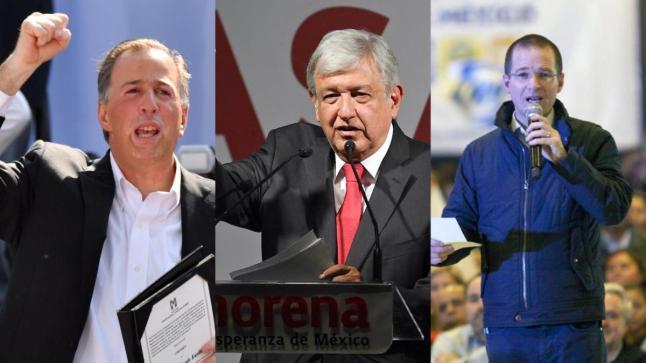 imagen candidatos presidenciales en México