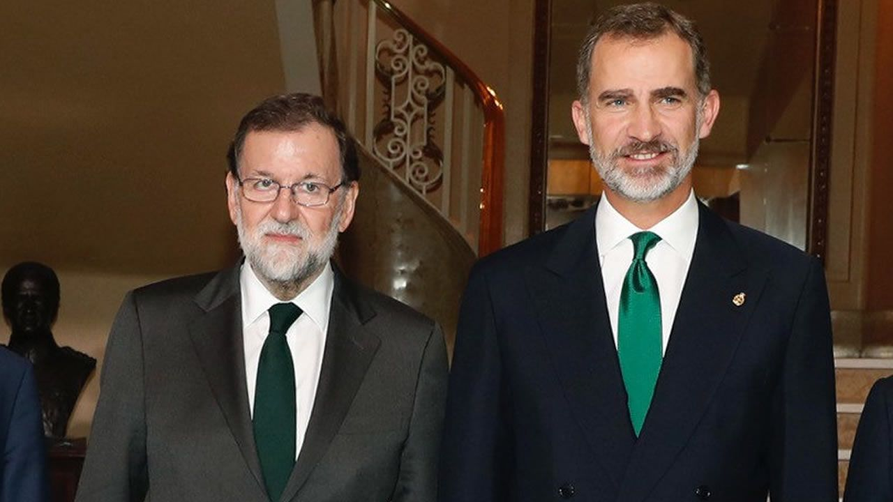 Rey España, Mariano Rajoy